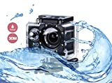 i-TecoSky 1080P Full HD Action Camera Sport Camera Sports Cam SJ4000 30M Waterproof Outdoor Mini Helmet Action Camera Diving Recorder Sports Action Camera Cam Camcorder DVR DV (black)