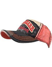 06010640d0c Rock Shark Distressed Vintage Cotton Embroidered Baseball Cap Snapback Hat