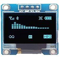 zreal 0,96Pulgadas I2C IIC Serie 128x 64Azul OLED