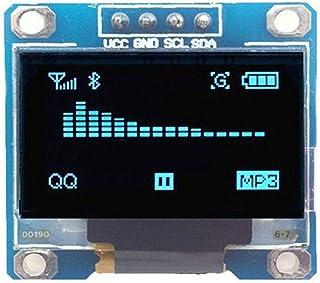 JklausTap Écran LCD LED OLED pour Arduino I2C IIC Serie 128 x 64 cm Bleu