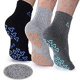Yoga Socks For Men, Anti-Skid Pilates, Barre, Bikram Fitness Socks with Grips