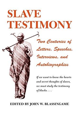"Review of John Blassingame's ""The Slave Community"" Essay Sample"