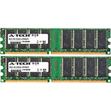 1GB KIT (2 x 512MB) For QMS Magicolor Series 5450 5550 5570 7450. DIMM DDR NON-ECC PC2700 333MHz RAM Memory. Genuine A-Tech Brand.