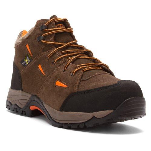 Mcrae Industrial Hombres Hiker Met Guard Bota Compuesto Dedo Del Pie - Mr83701 Brown 3
