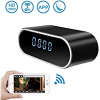 Wireless Security WiFi Hidden Camera Clock,DareTang HD 1080P Spy Camera with Motion Detection & Night Version