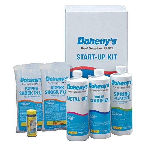 Doheny's Start-Up Kit #2 - For Swimming Pools up to 20,000 gallons.