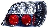 IPCW CWT-850B2 Subaru Impreza WRX Bermuda Black Tail Lamp with Crystal Eyes - Pair