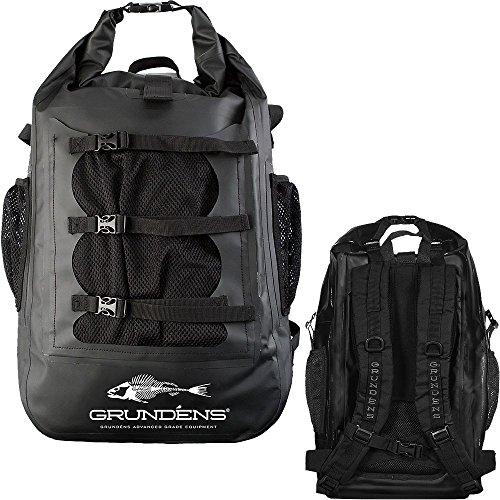 Cheap Grundens Gage Tech Rum Runner Backpack – Black Large