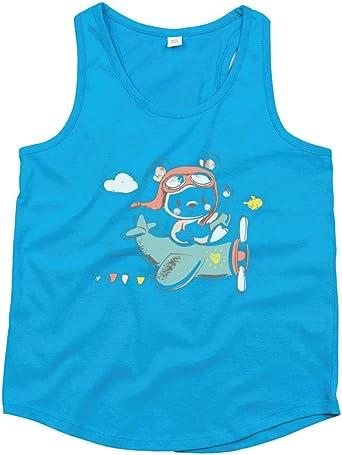 Camiseta de tirantes unisex para niños, diseño de oso de ...