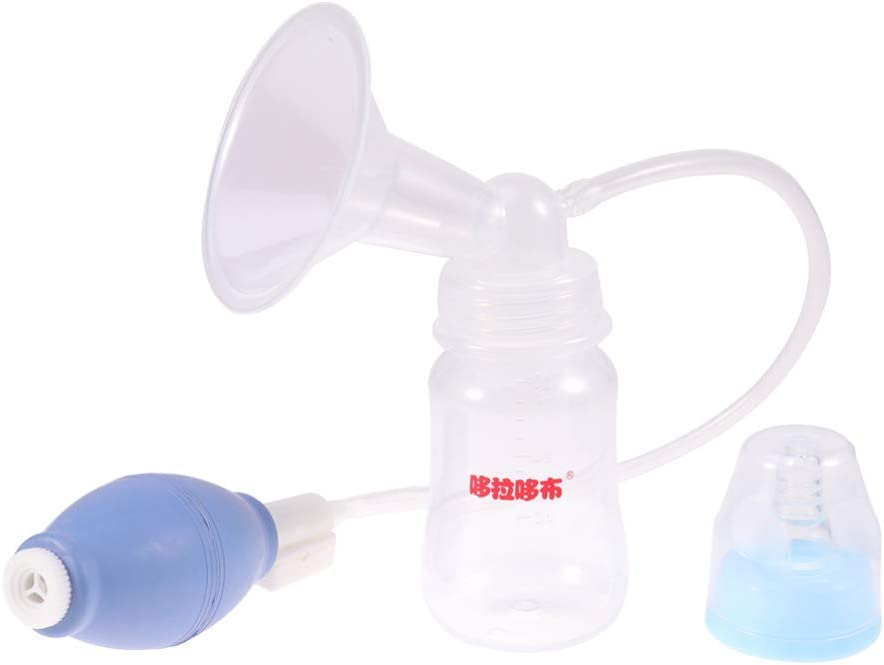 Azul SUPVOX Extractor de Leche Materna Lactancia Extractor de Leche de Succi/ón Manual Colector de Leche