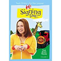 Signing Time Series 1 Vol. 9 - The Zoo Train
