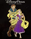 Disney Rapunzel and Flynn Tangled in her Hair Pin