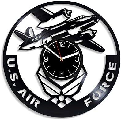 Kovides U.S. Air Force Vinyl Wall Clock U.S. Air Force Gift