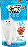 Purina Fancy Feast Duos Tuna Flavor with Accents of Parsley Cat Treats - (10) 2.1 oz. Pouches
