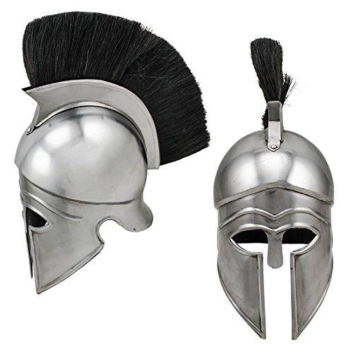 Red Deer Roman Helmet Defender Carbon Steel (Roman Steel Helmet)