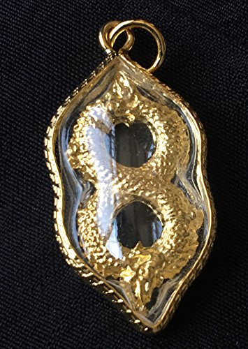 Phaya Nak Naga Dragon Ouroboros Naga Tail Infinity Thai Buddha Amulet Thai Amulets Hanger  Thai Buddha Necklace  Thai Buddha Pendant  Charm Love Attraction  Lucky Powerful Paladkik Elephant Love Luck