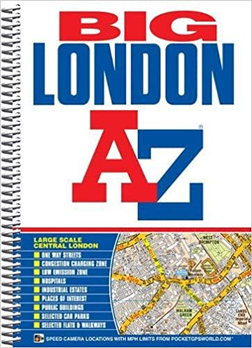 The Map Shop London.Big London Street Atlas London Street Atlases Amazon Co Uk