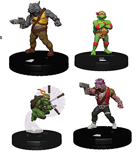 Teenage Mutant Ninja Turtles HeroClix: Gravity Feed Display - Heroes in a Half Shell Set 2 (24 Booster (Gravity Feed Display)