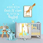 Cuddles-Cribs-Nursery-Bedding-Crib-in-a-Bag-100-Organic-Cotton-Crib-Sheets-100-Polyester-Reversible-Comforter-and-Shaped-Cushion-4-Piece-Happy-Giraffe