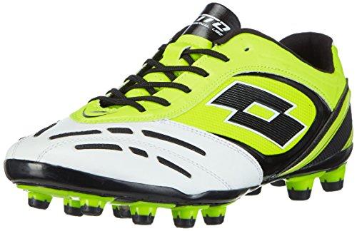Saf Stadio Homme Wht 200 Lotto P de Ylw Football Chaussures VI Mehrfarbig pour FG Multicolore Compétition pwBSd6q
