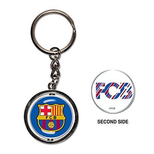 Soccer FC Barcelona Spinner Key - Chain Fc Barcelona