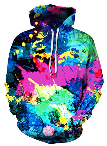 0405c1555 Azuki Men's/Women's Patterns Print Athletic Sweaters Fashion Hoodies  Sweatshirts S