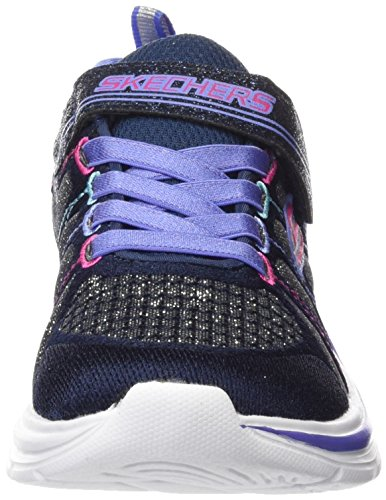 nvmt Marine Swift Fille Bleu Kicks Skechers multicouleur Baskets Basses wAHY00x