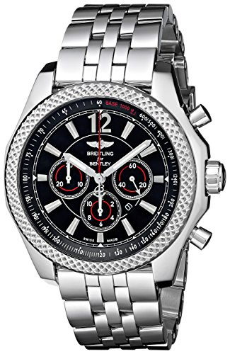 Breitling Men's A4139024-BB82 Automatic Stainless Steel Watch (Resistant Breitling Water Bracelet)