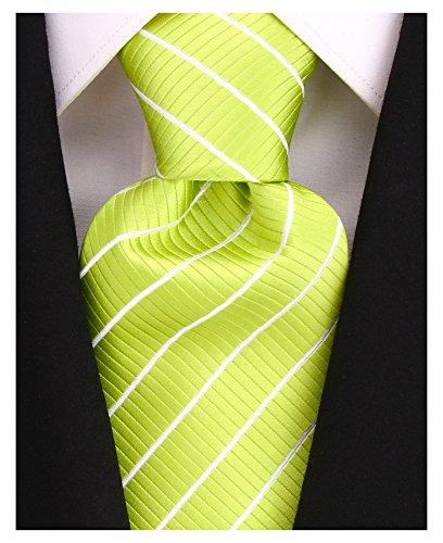 Lime Green Necktie (Green Neckties, Mens Lime Green Tie by - Scott Allan Collection)