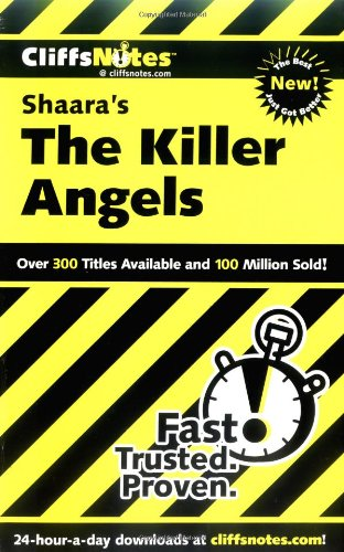 Read Online CliffsNotes on Shaara's The Killer Angels (Cliffsnotes Literature Guides) pdf epub