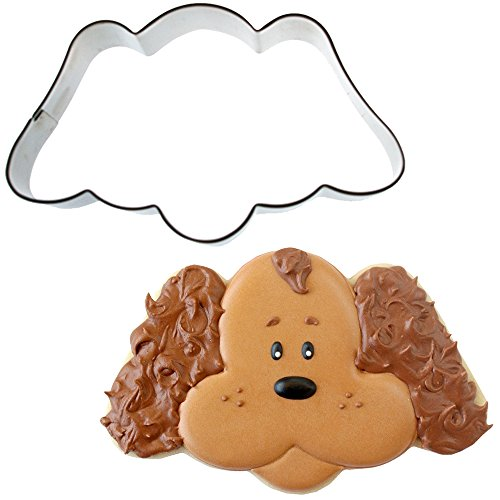 Sweet Elite Tools- Puppy Dog Face Stainless Steel Cookie Cutter By Sweet Sugarbelle