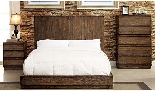 Amazon Com Furniture Of America Bellamy 3 Piece Panel California