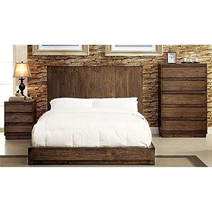 Amazon.com: Furniture of America Bellamy 3 Piece Queen ...