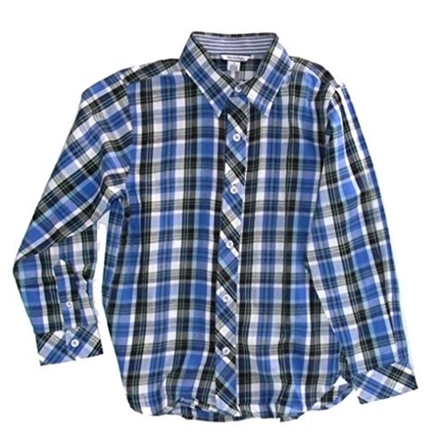 Hartstrings Big Boys' Plaid Woven Button-Down Shirt - Hartstrings Shirt Plaid