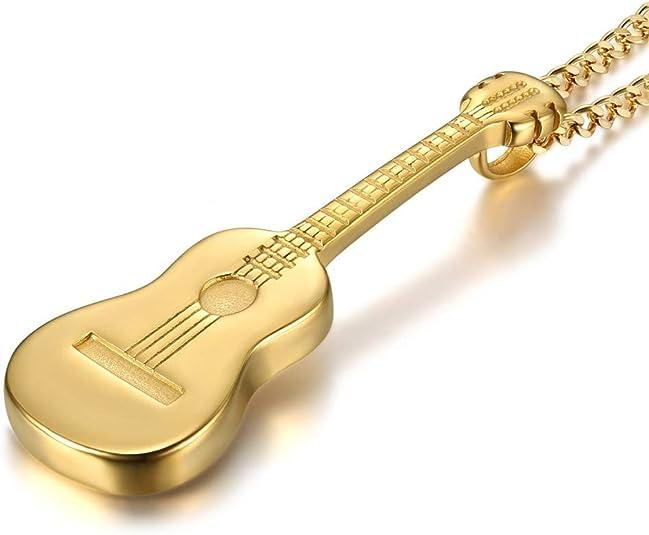 LE BAGACIER - Colgante, Collar De Hombre De La Guitarra Gitana ...
