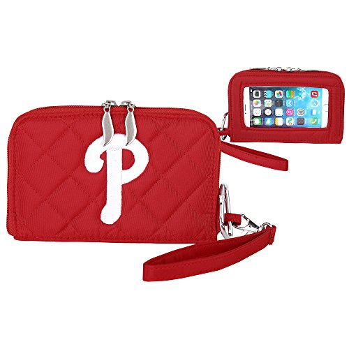 Charm14 Philadelphia Phillies Quilted Cell Phone Wallet