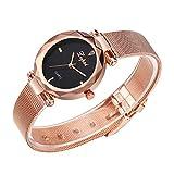 2019 Classic Hot Luxury Watch Womens Belt Casual Watch Analog Quartz Round Wristwatch for Ladies by Malbaba