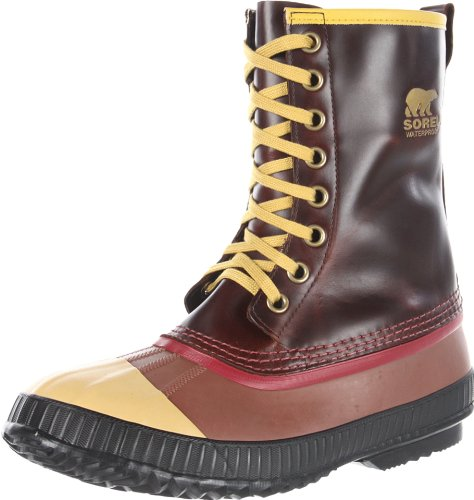 Sorel Mens Sentry Original Snö Boot Sadel