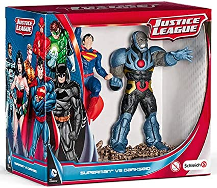 Superman vs Darkseid  Schleich  justice league scenery figure set