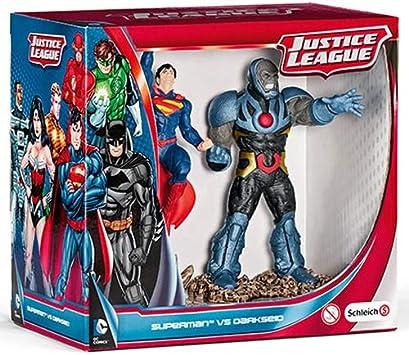 Schleich - Scenery Pack Superman vs Darkseid (22509): Amazon.es ...