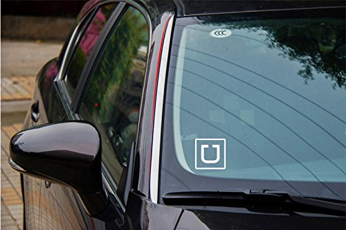 Image result for uber decal in car