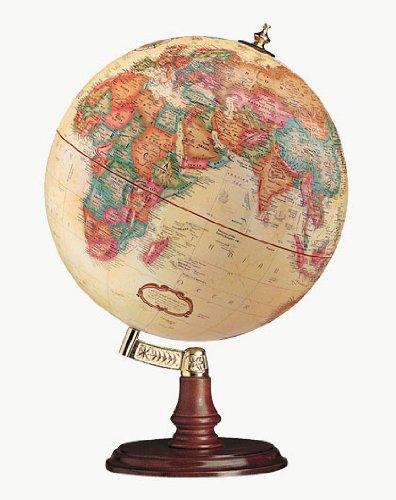 - Replogle Globes Cranbrook Globe, Antique Ocean, 12-Inch Diameter, Small, Off- Off-White