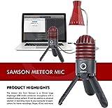 Samson Meteor Mic USB Studio Microphone, Limited