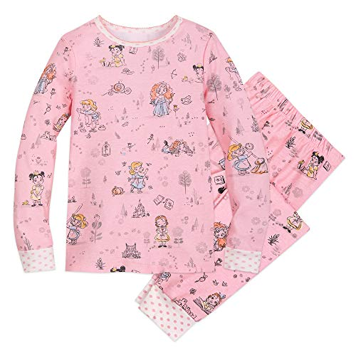 Disney Animators' Collection PJ PALS for Girls Size 4 Multi from Disney