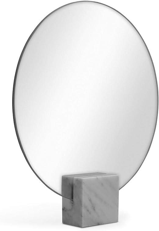 Photolini Spiegel Rund 30 Cm Durchmesser Standspiegel Ohne Rahmen Stehspiegel Tischspiegel