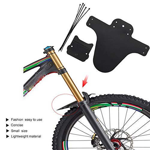 Nihlssen Portable Bicycle Mudguard Easy To Install MTB Fender Mud Guards Wings For Bicycle Front Fenders Bike Accessories
