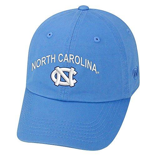 Elite Fan Shop North Carolina Tar Heels Hat Arch Over Icon Blue - Carolina Blue Tar Heels Unc Baseball