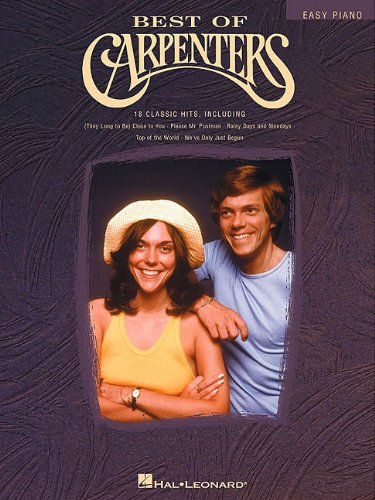 - Best of Carpenters (Easy Piano (Hal Leonard))
