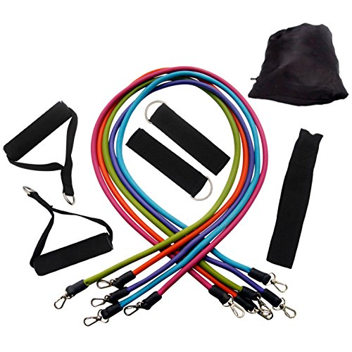Attmu resistance bands tubes for fitness training