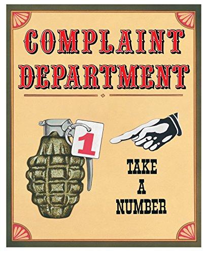 Complaint Department Wall (Crystal Art